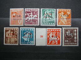 Lietuva Lithuania Litauen Lituanie Litouwen # 1940 MNH # Mi. 449/6 - Lituania