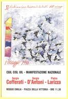 Tematica - Sindacati - CGIL-CISL-UIL - 50° Dichiarazione Universale Dei Diritti Dell'Uomo - 1° Maggio - Reggio Emilia - - Syndicats