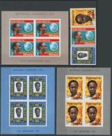 Ghana, 1961 Founder's Day - Stamps + Minisheet - MNH - BJ-26 - Ghana (1957-...)