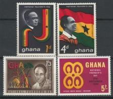 Ghana, 1963 Founder's Day - MNH - BJ-39 - Ghana (1957-...)