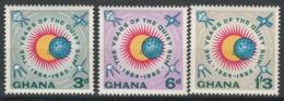 Ghana, 1964 -1965 International Quiet Sun Years - MNH - BJ-44 - Ghana (1957-...)