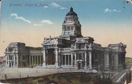 AK Bruxelles - Palais De Justice - Feldpost 1. Landst.-Esk. IV. AK - Namur 1916 (38830) - Bauwerke, Gebäude
