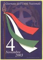Tematica - Feste - 2003 - 4 Novembre, Giornata Dell'Unità Nazionale - Not Used - Eventi