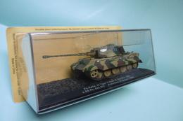 Altaya - CHAR TANK Français Panzer Kpfw. VI TIGER II Ausf. B (Sd.Kfz. 182) Abt.501 Ardennes France 1944 Neuf NBO 1/72 - Tanks