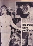 (pagine-pages)MARLENE DIETRICH Visto1959/49. - Autres