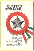 Tematica - Feste - 4 Novembre, Giornata Delle Forze Armate E Del Combattente - Not Used - Eventi