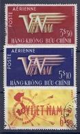 180030930  VIETNAM  YVERT  .  AEREO  Nº   1/3  USED/MH - Vietnam