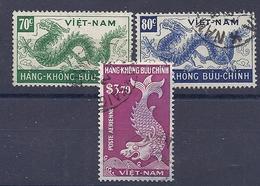 180030931  VIETNAM  YVERT  .  AEREO  Nº   5/6/8 - Vietnam