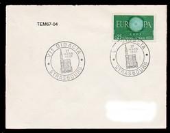 TEM67-04 : Dept 67 (Bas-Rhin) STRASBOURG 1961 > 6° DIDACTA > Formation Et Qualification - Marcophilie (Lettres)