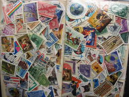 USA Colossal Mixture (duplicates, Mixed Condition) 2000 About 40% Commemoratives, 60% Definitives - Vrac (min 1000 Timbres)
