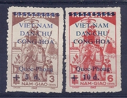 180030938  VIETNAM  YVERT  .Nº   19/20  */MH  (NO  GUM) - Viêt-Nam