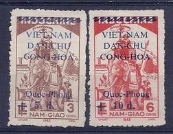 180030938  VIETNAM  YVERT  .Nº   19/20  */MH  (NO  GUM) - Vietnam