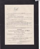 WAREMME OTHEE Guillaume STREEL élève Au Collège St-SERVAIS 1897-1918 Famille GREGOIRE De BECO ELIAS - Décès