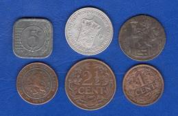 Pays  Bas  6   Pieces - [ 3] 1815-… : Kingdom Of The Netherlands