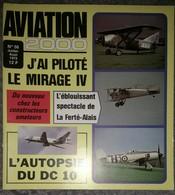 Revue Aviation 2000 N°56 Juillet 1979 Mirage 4 - DC10 - Musée De L'air Du Bourget - Ferté-Alais - Aerostar 601 - Aviation
