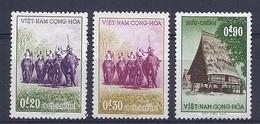 180030945  VIETNAM  SUR  YVERT  .Nº   65/7  */MH  (NO  GUM) - Viêt-Nam