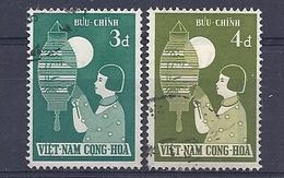 180030946  VIETNAM  SUR  YVERT  .Nº   92/3 - Vietnam