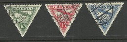 LETTLAND Latvia 1931 Michel 177 - 179 A O - Lettonie