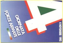 Tematica - Feste - 1992 - 4 Novembre, Giornata Delle Forze Armate - Not Used - Eventi