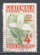 Guatemala 1953. Scott #C189 (U) White Nun, National Flower * - Guatemala