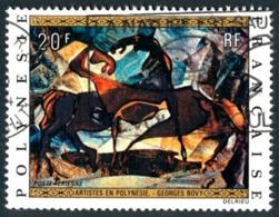 POLYNESIE 1972 - Yv. PA 65 Obl.   Cote= 4,80 EUR - Tableau De Georges Bovy  ..Réf.POL23461 - Gebruikt