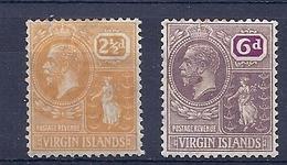180030951  VIRGIN  ISL.  YVERT  .Nº   56/9  */MH - British Virgin Islands