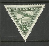 Lettland Latvia 1931 Michel 177 A * - Lettonie
