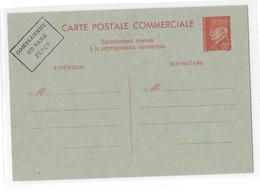 ENTIERS POSTAUX C.P. Commerciale Interzones Neuve  E.P. CP (ST.N°B2/Ind.8) – 80c.  PETAIN Type Lemagny Rouge - Entiers Postaux