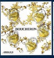 France 2019.Bloc Coeur Boucheron.Cachet Rond.Gomme D'Origine - Blocs & Feuillets