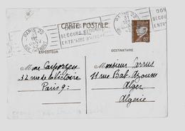 PARIS – Bureau N°22 « RUE TAITBOUT »  *  Correspondance Interzones  *  CPI Ordinaire - Tarif 80c. (4.1.1942/28.2.1942) - Entiers Postaux