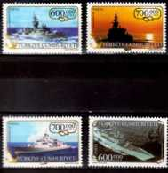 2003 Turkey - Turkish Navy - Ships - MNH** MiNr. 3359 - 3362 Freegate Karadeniz, Gediz, Salihreis, Kocatepe - 1921-... Republic