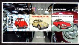 2017 Denmark - Nordia 2017 Overprint Oldtimer - MNH** MS MI B 68 I - Neufs