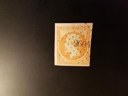N°16, 40 Cts  Orange,  PC,  2604, Quettehou, Manche. - Marcophilie (Timbres Détachés)