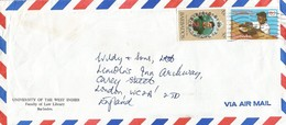 Barbados 1981 Bridgetown Prince Charles Braille Year Disabled Cover - Barbados (1966-...)
