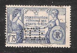 Perforé/perfin/lochung France No 357  C.C.F.  Crédit Commercial De France (63) - France