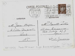 PARIS – Bureau Central  *  Correspondance Interzones  *  CPI Ordinaire - Tarif 80c. (4.1.1942/28.2.1942)  E.P. CP - Entiers Postaux