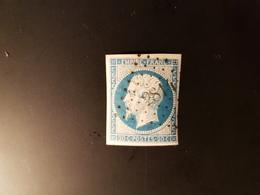 N°14, 20 Cts Bleu, PC  2814, Sartilly, Manche. - Marcophilie (Timbres Détachés)