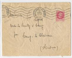 94 – VAL DE MARNE (Ex Seine) « MAISONS-ALFORT » LSI - 20gr. - Tarif à 1F50 (5.1.1942/28.2.1945) N°516 - 1F50 PETAIN - Marcophilie (Lettres)