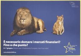 Tematica - Elezioni - 2009 - Parlamento Europeo - E' Necessario Domare I Mercati Finanziari? Fino A Che Punto? - Not Use - Political Parties & Elections