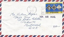 Barbados 1972 Bridgetown Boy Scouts Baden Powell George Burton Charles Springer Cover - Scoutisme