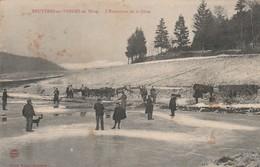 Bruyères En Vosges  En  Hiver , L'extraction De La Glace - Bruyeres