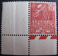 DF50500/12 - 1930 - EXPOSITION COLONIALE INTERNATIONALE DE PARIS De 1931 - N°272 II CdF NEUF** - Frankreich