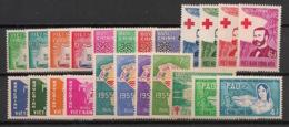 South Vietnam - Complete Year 1960 - N°Yv. 130 à 153 - 23v / Année Complète  - Neuf Luxe ** / MNH / Postfrisch - Viêt-Nam