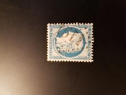 N°60 C,  25 Cts Bleu , GC 1511, Flamanville,  Manche. - Marcophilie (Timbres Détachés)