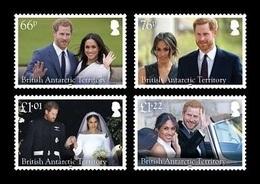BAT 2018 Mih. 776/79 Royal Wedding. Prince Harry And Meghan Markle MNH ** - British Antarctic Territory  (BAT)