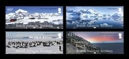BAT 2018 Mih. 801/04 Landscapes. Fauna. Penguins MNH ** - British Antarctic Territory  (BAT)
