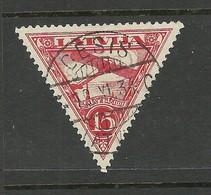 Lettland Latvia 1931 Michel 178 A O CESIS - Lettonie