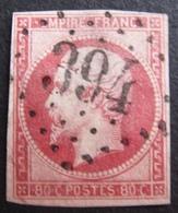 DF50500/14 - NAPOLEON III N°17B - LOSANGE GROS CHIFFRES 394 : BEAUMONT-SUR-SARTHE (Sarthe) INDICE 3 - Cote : 65,00 € - Variétés Et Curiosités