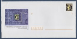 = Enveloppe Entier Neuve La Poste à Usage De Service Hors Commerce Agrément 889 Lot 436/277 Type Cérés + Carte Voeux - Entiers Postaux
