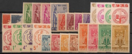 South Vietnam - Complete Year 1963 - N°Yv. 204 à 229 - 26v / Année Complète  - Neuf Luxe ** / MNH / Postfrisch - Vietnam